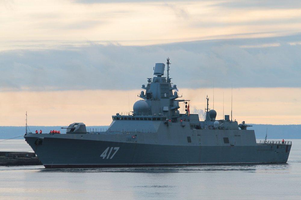 Русский фрегат-невидимка превзошел боевые корабли США