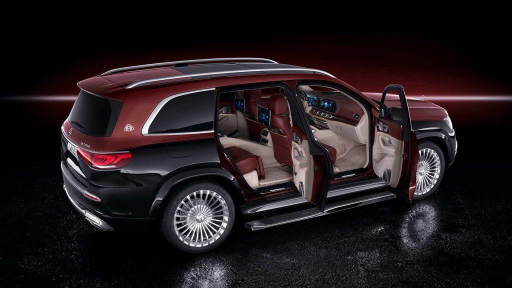 Mercedes представил новый кроссовер Maybach GLS 600 4Matic