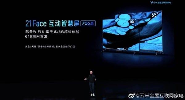 Xiaomi представила 8K-телевизоры с поддержкой 5G и 3D сенсором