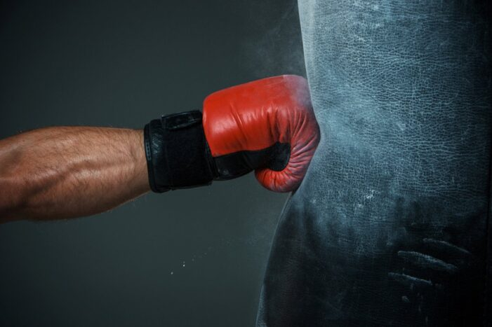 Приемы профессиональных боксеров на ринге
