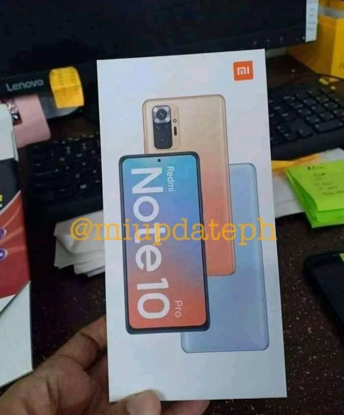 Дизайн Redmi Note 10 Pro раскрыт на просочившемся снимке розничной коробки