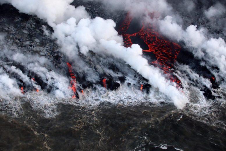 Nature: Ученые выяснили, что вызывает крупномасштабные извержения вулканов