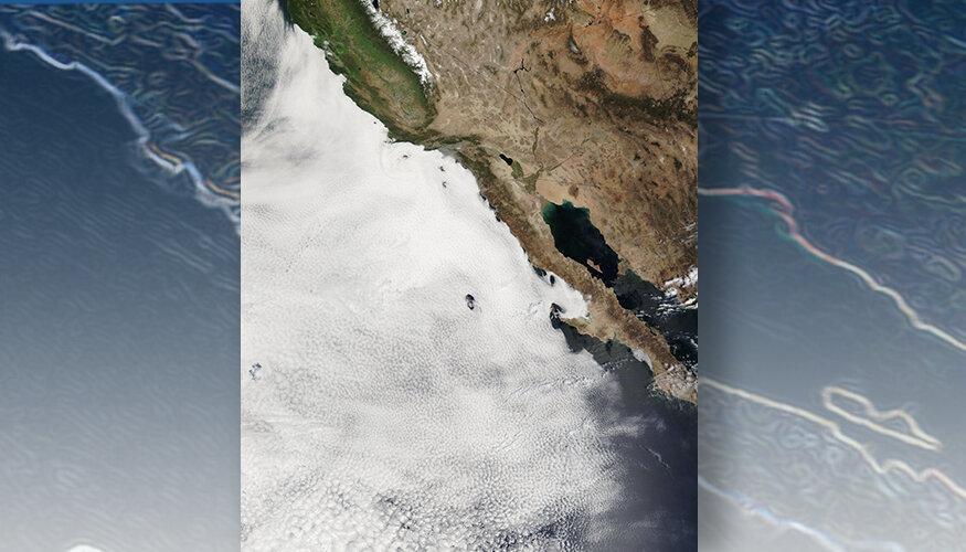 Phys.org: Наблюдения показывают, что морские облака усиливают потепление