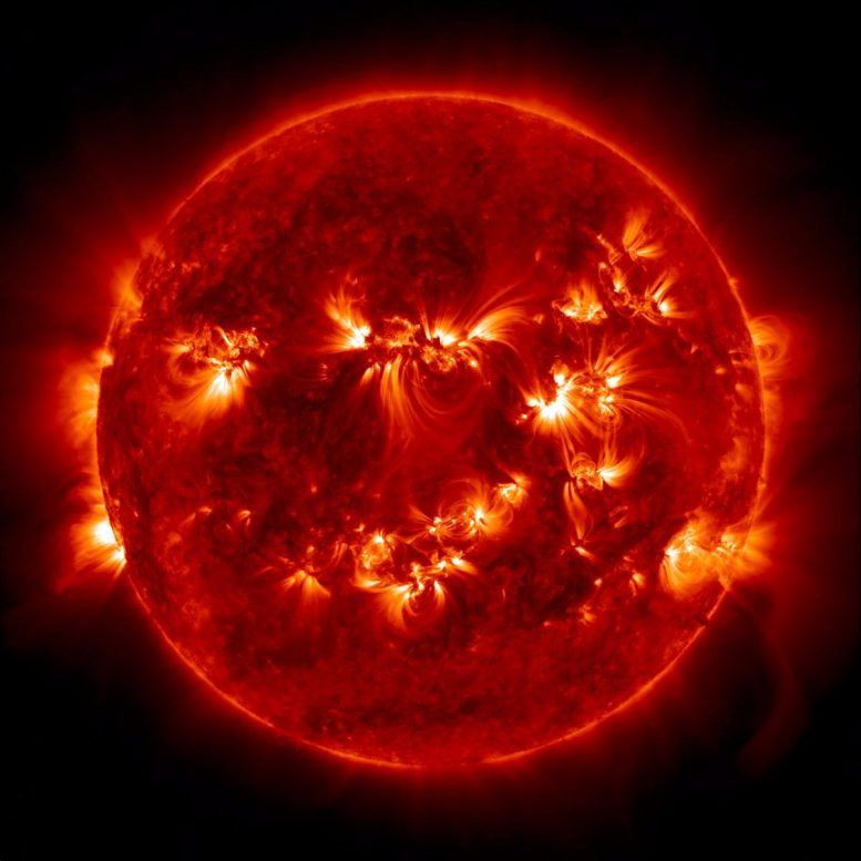 Колебания солнечной активности могут синхронизироваться планетарными силами притяжения