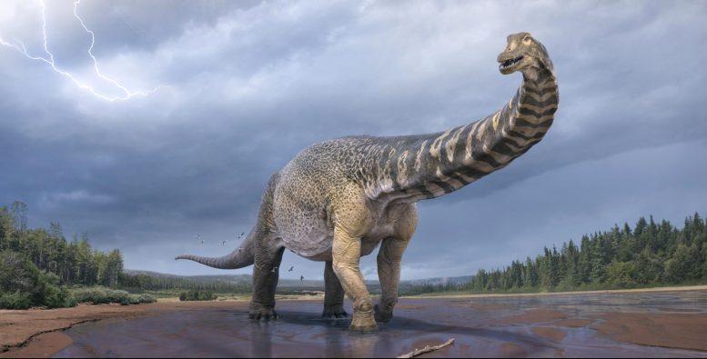 Самый большой динозавр Австралии вошел в Книгу рекордов