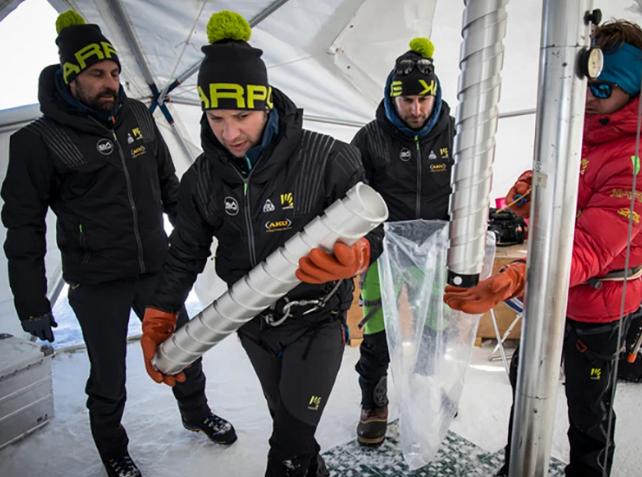 10 000 лет климатической памяти сохранены в старейших льдах Альп