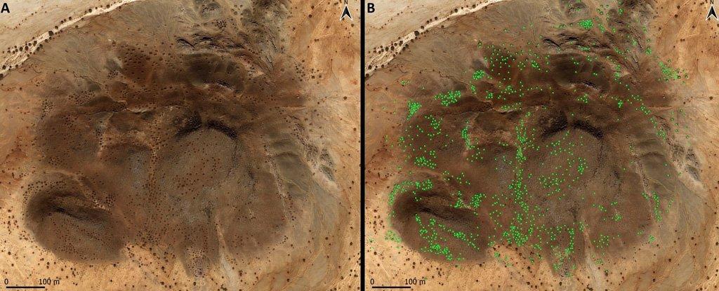 Тысячи древних исламских гробниц найдены таинственным образом устроенными в «галактических» узорах