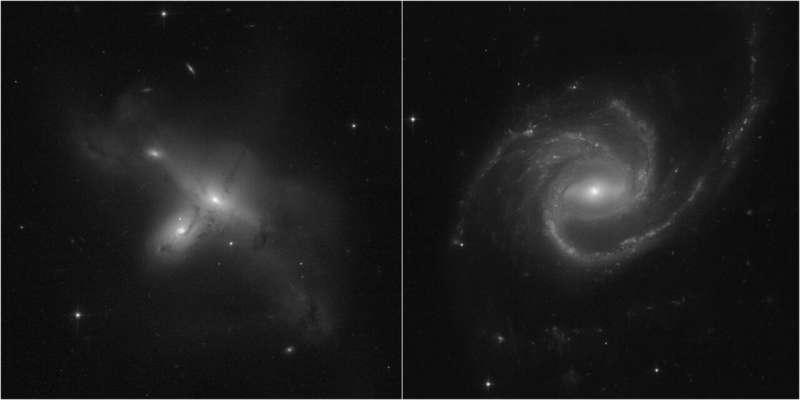 Хаббл возвращается к полноценным научным наблюдениям и публикует новые изображения