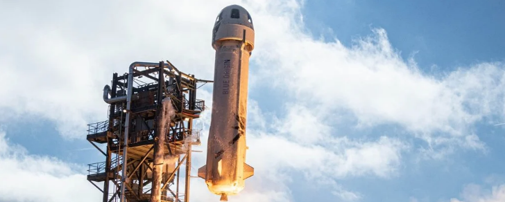 Джефф Безос собирается полететь в космос с Blue Origin