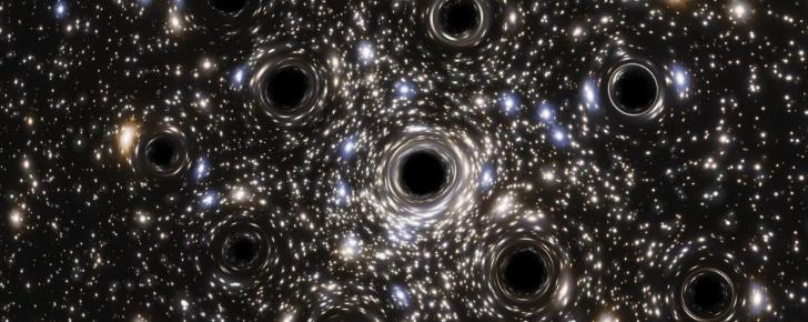 По Млечному Пути движется целый рой черных дыр