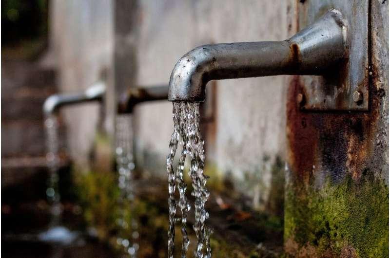 Детали водоохладителя могут быть источником воздействия фосфорорганического эфира