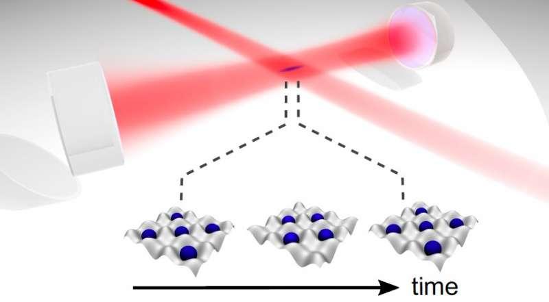 Первая экспериментальная реализация диссипативного временного кристалла